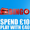 Deal or No Deal Bingo Banner